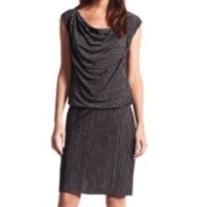 Derek Lam   DesignNation Striped Drop Waist Dress